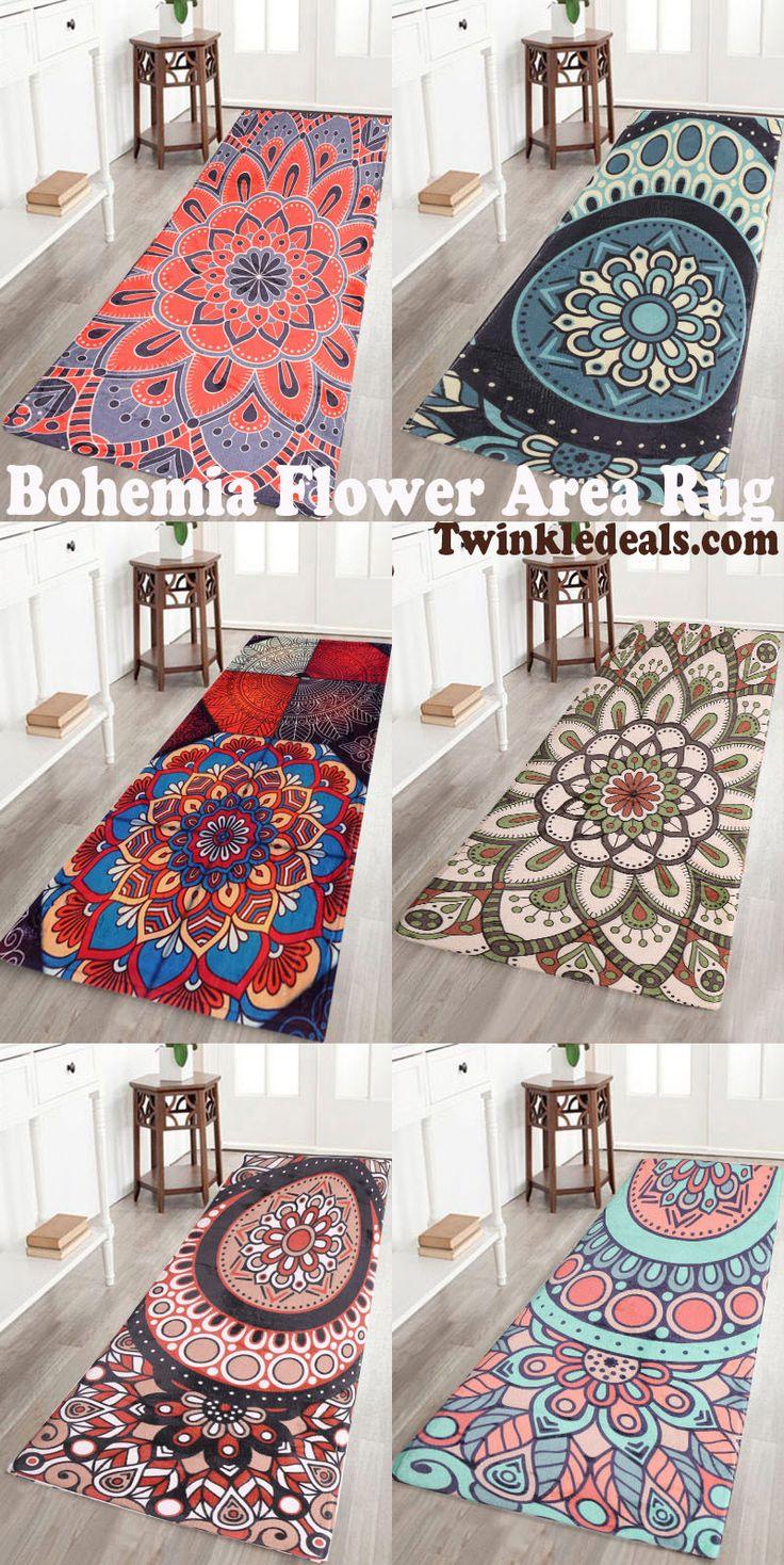 Bohemia Flower Area Rug