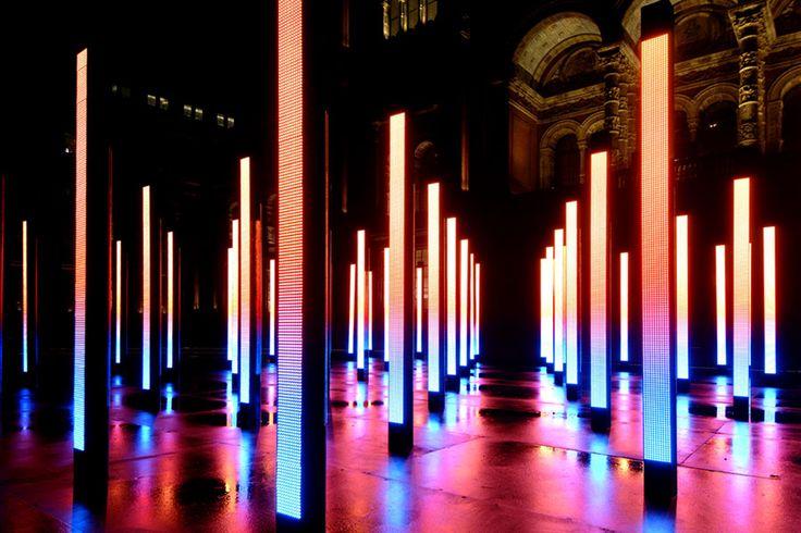 LED Columns of light