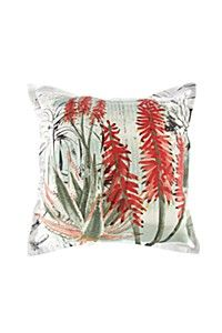 PAINTED ALOE 60X60CM SCATTER CUSHION