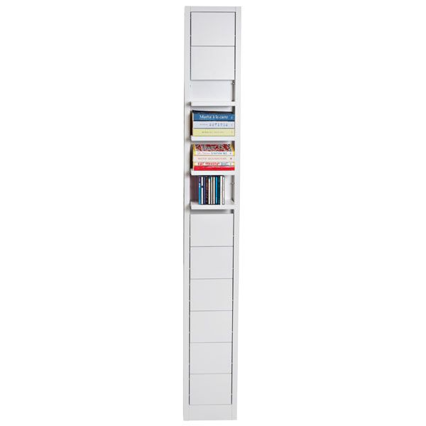 Klaffi shelf small, white