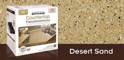 Material para transformar la encimera de la cocina / baño
