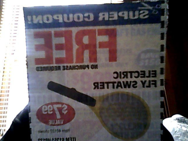 18 best coupons images on pinterest coupon coupons and 1 harbor freight no purchase required electric fly swatter coupon expires 6714 fandeluxe Gallery