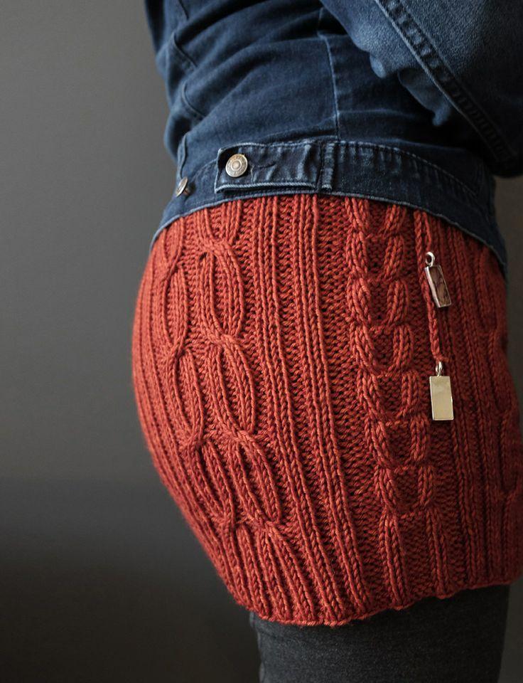 Knit bum warmer                                                       …