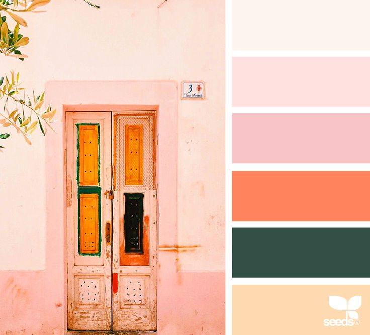 { a door hues } color palette by design seeds