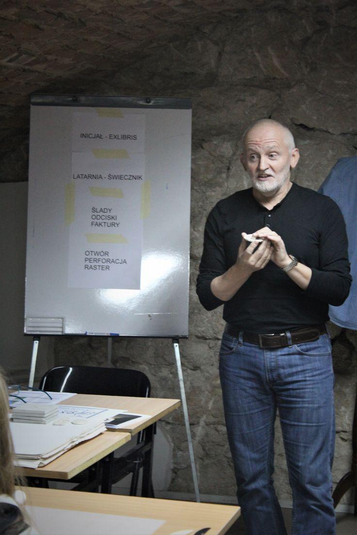 Ceramics workshop with Grzegorz Garcarz. #zaprojektowani #szkolawnetrziprzestrzeni
