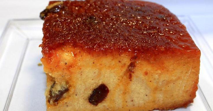 Ahora sí que sí que te va a salir perfecto el budin de pan cuando lo prepares siguiendo esta receta tan detallada.