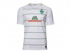 2017 cheap jersey werder bremen away replica white shirt