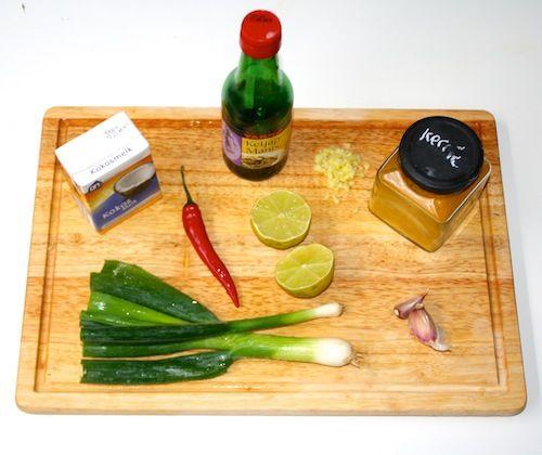 Zelfgemaakte Thaise curry (zonder potje)