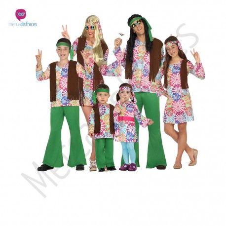 disfraz hippie psicodlico para nio disfraces para grupos comparsas en