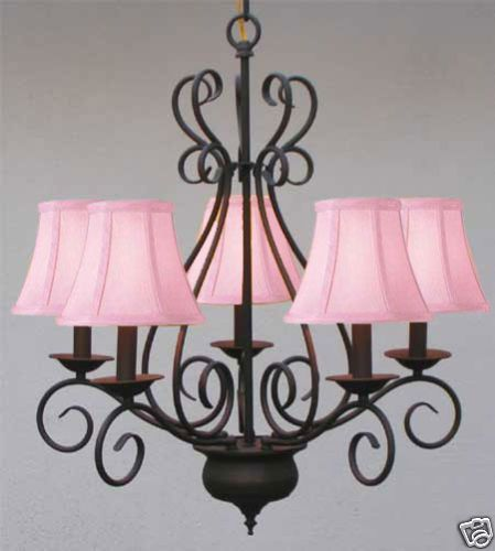 Love it...for a pink & black bedroom... or a Paris room!