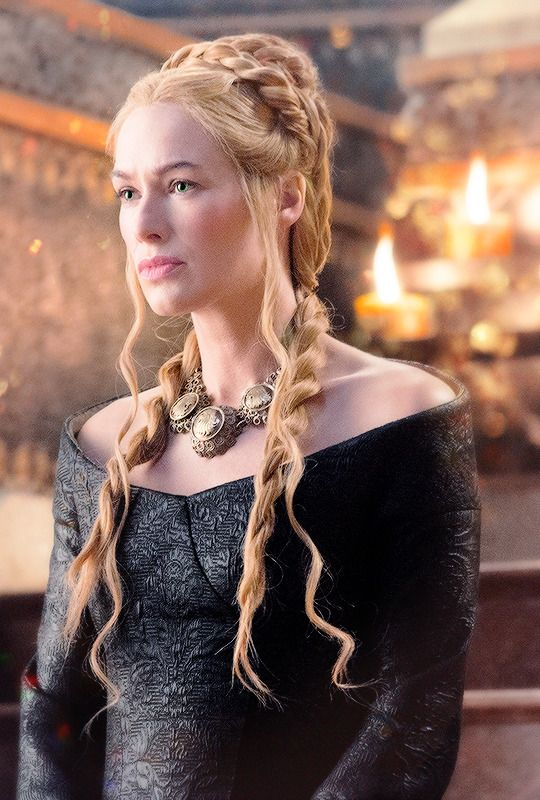 "QUEEN REGENT CERSEI LANNISTER; the most beautiful and violent woman in Westeros, Cersei is mother to King Joffrey, Princess Myrcella, and King Tommen. She is the daughter of Tywin and Joanna Lannister, and twin to the ""kingslayer"" Jaime Lannister."