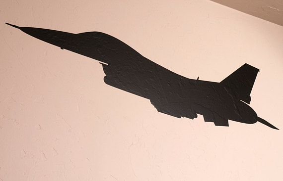 F 16 Fighter Jet Wall Decal Fighter Jets Fighter Anime Art Girl