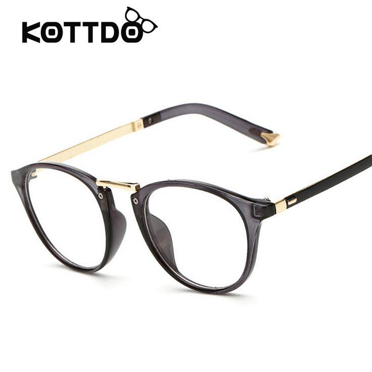 Women Clear Lens Eyewear Unisex Retro Glasses Square Pink Frame Vintage Eyeglasses Frame For Women Men's Goggles oculos de grau #Affiliate