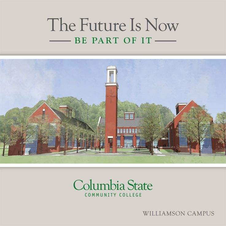Columbia State Community College  Williamson Campus Brochure, Columbia, Tennessee