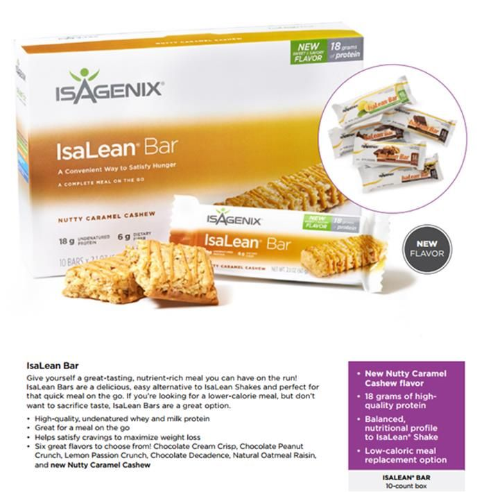 BEST Meal Replacement Bar on earth!! www.jamestrudell.isagenix.com