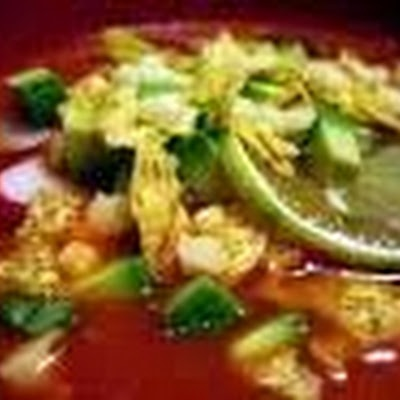 Chicken Tortilla Soup - copycat of Chuy's restaurant recipe!!