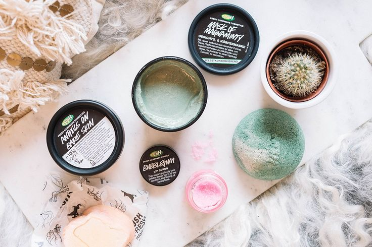 krist.in lush innkjøp mask of magnaminty lip scrub bubblegum angels on bare skin sugar scrub turkish delight