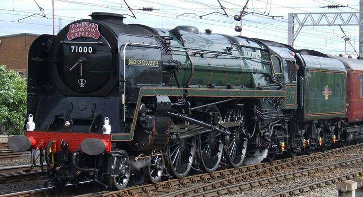 BR Standard class 8P 4-6-2  No 71000 'Duke of Gloucester'