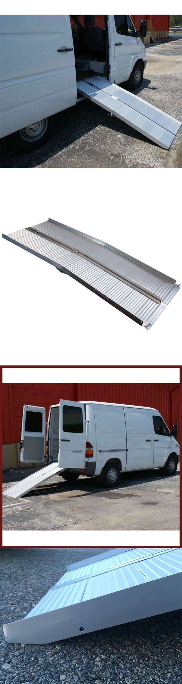 Access Ramps: 6 Ft Portable Aluminum Wheelchair Loading Ramp: Folding Foot 5 7 Scooter New BUY IT NOW ONLY: $129.99