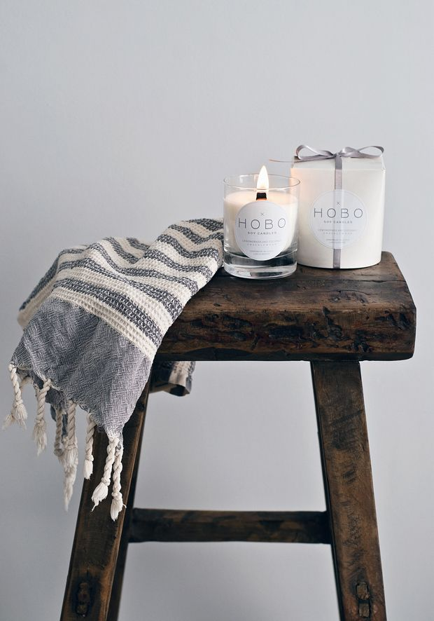 Giveaway | Hobo Soy Candles | These Four Walls blog. Head over to Instagram or These Four Walls to enter!