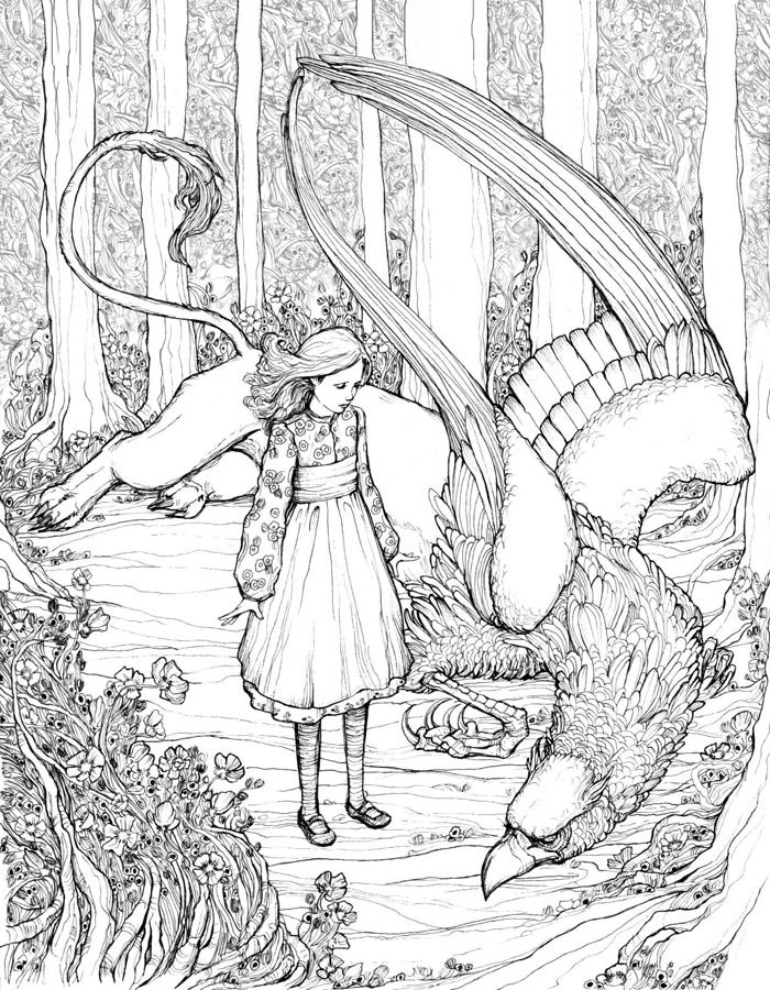 alice and the gryphon bluefooteddeviantartcom