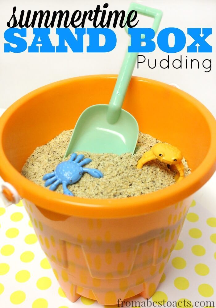 Summer is coming and you know what that means? Picnic season! And now, you can bring a little bit of the park to the picnic with this quick, easy, and delicious sand box pudding!