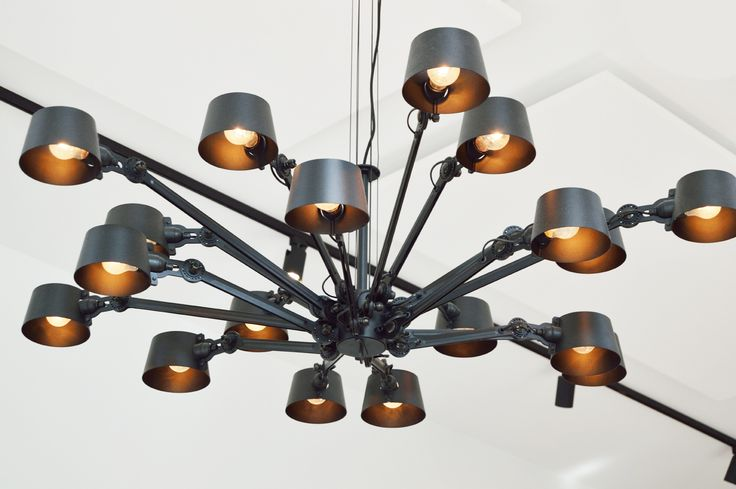 Tonone Chandelier special edition at Morgan and Mees Amsterdam - www.tonone.com