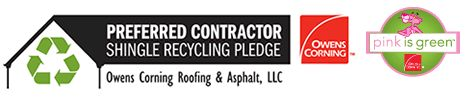 Jeff Home Improvements Inc. has taken the shingle recycling pledge!