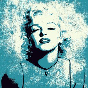 Celebrity Digital Art - Marilyn Monroe - 201 by Variance Collections