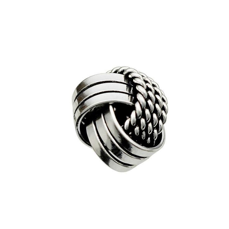 Boucle d'oreille anneau marin