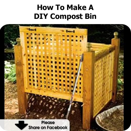 Diy Compost Bin Apartment: WoodWorking Projects & Plans