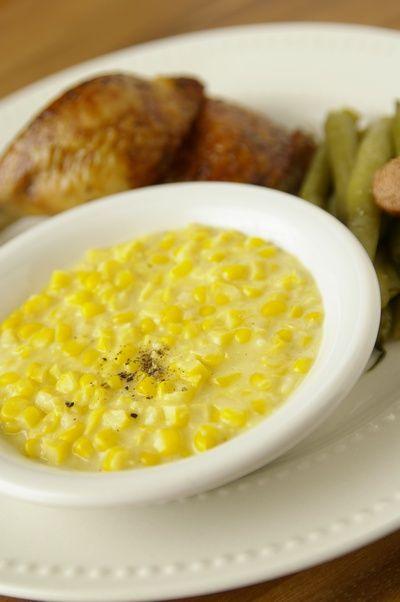 クリームド・コーン Creamed Corn : A Taste of The Southern Home アメリカ南部の家庭料理