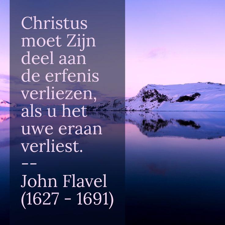Erfenis - John Flavel (1627 – 1691)