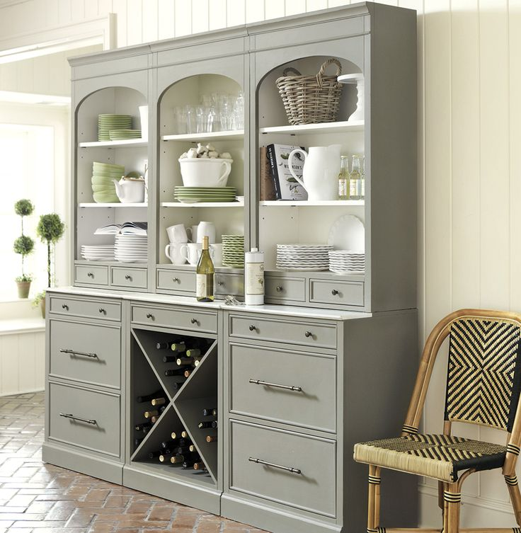 120 Best Mon Buffet U0026 Hutch Images On Pinterest | Home, Armoire Pantry And  Black China Cabinets