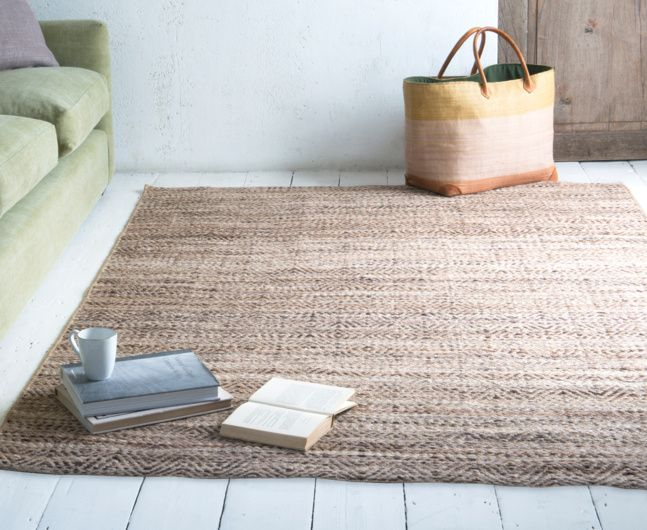TRUMPS RUG. Take a look at our handmade Trumps floor rug. Its got the strength of the jute and the softness of wool to make for a truly gorgeous, natural-looking rug.
