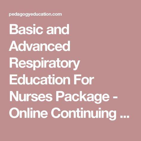 Home study ceus respiratory