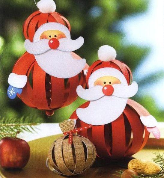Бумажные игрушки к Новому году.. Обсуждение на LiveInternet - Российский Сервис Онлайн-Дневников