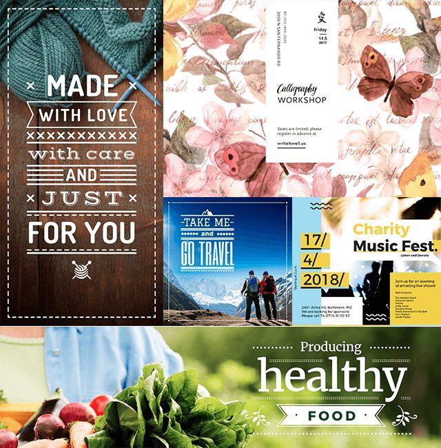 Le plus simple des éditeurs d'images en ligne. Réalisez vos propres conceptions —  publications, couvertures, graphismes et affiches avec le meilleur logiciel sur le Web. C'est facile !