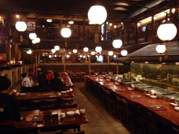 Gonpachi Nishiazabu in Tokyo Japan...the restaurant which inspired the set for the scene in Quentin Tarantino's movie, Kill Bill Volume 1.