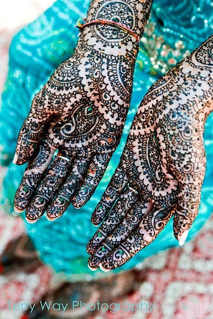 Indian Wedding Mehndi #henna #bridal