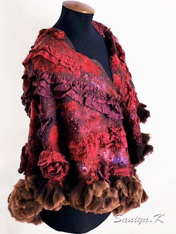 Hygge Shawl Tango felted hygge shawls buy