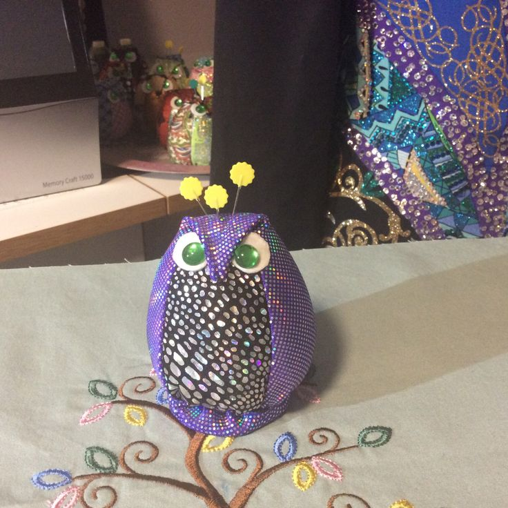 A personal favorite from my Etsy shop https://www.etsy.com/ca/listing/479232688/owl-pin-cushion-homemade-unique-stuffed