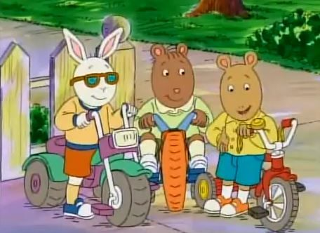 Arthur- Stolen Bike- When Francine's bike gets stolen she realizes just how much she misses it