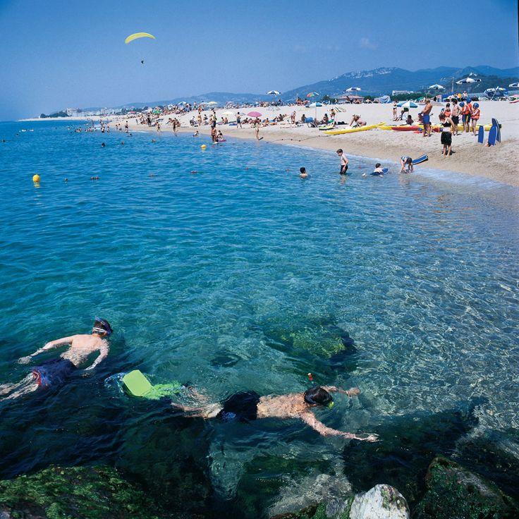 Santa Susanna sur la Costa del Maresme. Location villa Costa del Maresme