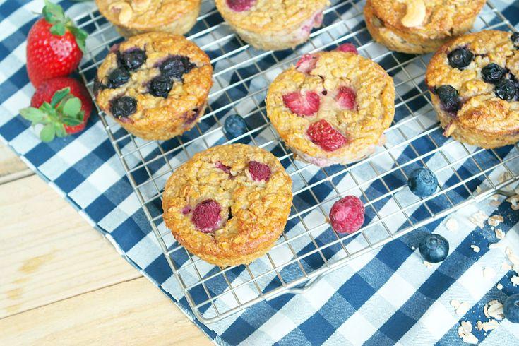 Rezept für Frühstücks Hafer Muffins-Kooperation mit Kölln