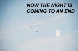 Twenty One Pilots | Vessel | Truce | Now the night is coming to an end