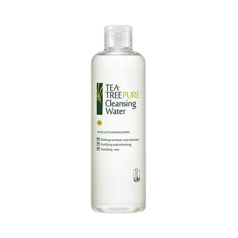 Tea Tree Pure Cleansing Water #cleanser #cleansers-&-exfoliators #cleansing-water