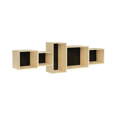 <p>Original Estanteria para colgar. Fabricada en madera contrachapada. Made in Spain. Medidas: 110.0 x 16.0 x 31.0 cm</p>