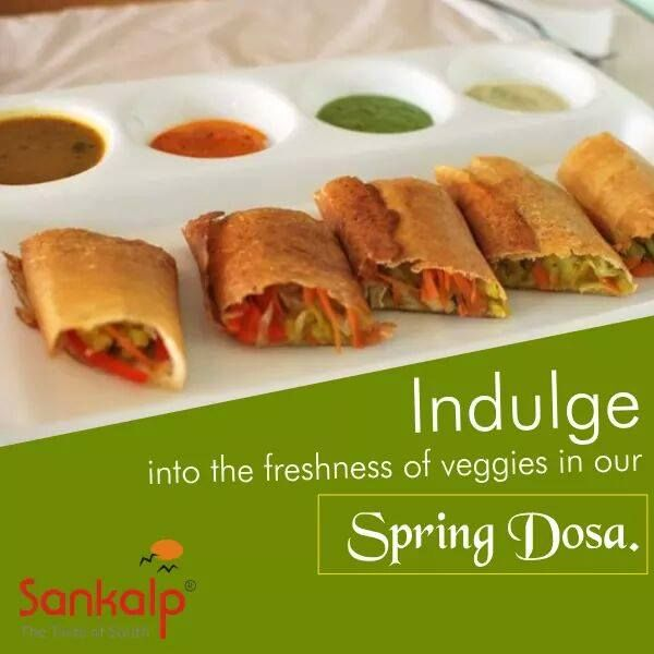 Spring Dosa - Explore the Tempting Taste of South Indian cuisine