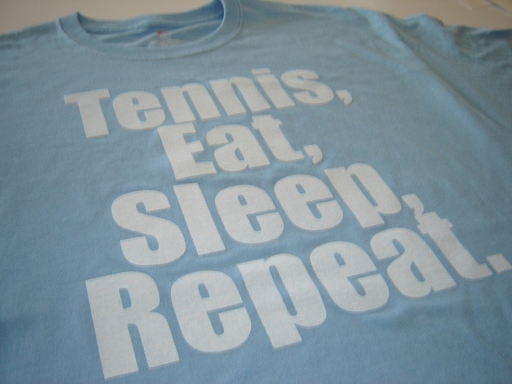 Tennis Eat Sleep Repeat tennis t shirt sports player fanatic men women kids youth